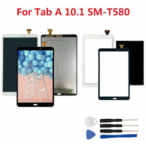 Pour-Samsung-Galaxy-Tab-A-10-1-SM-T580-T585-LCD-Display-Ecran-tactile-Assembly-F