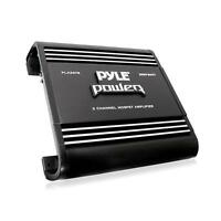 Pyle Pla2378 2 Channel 2000 Watts Bridgeable Mosfet Amplifier