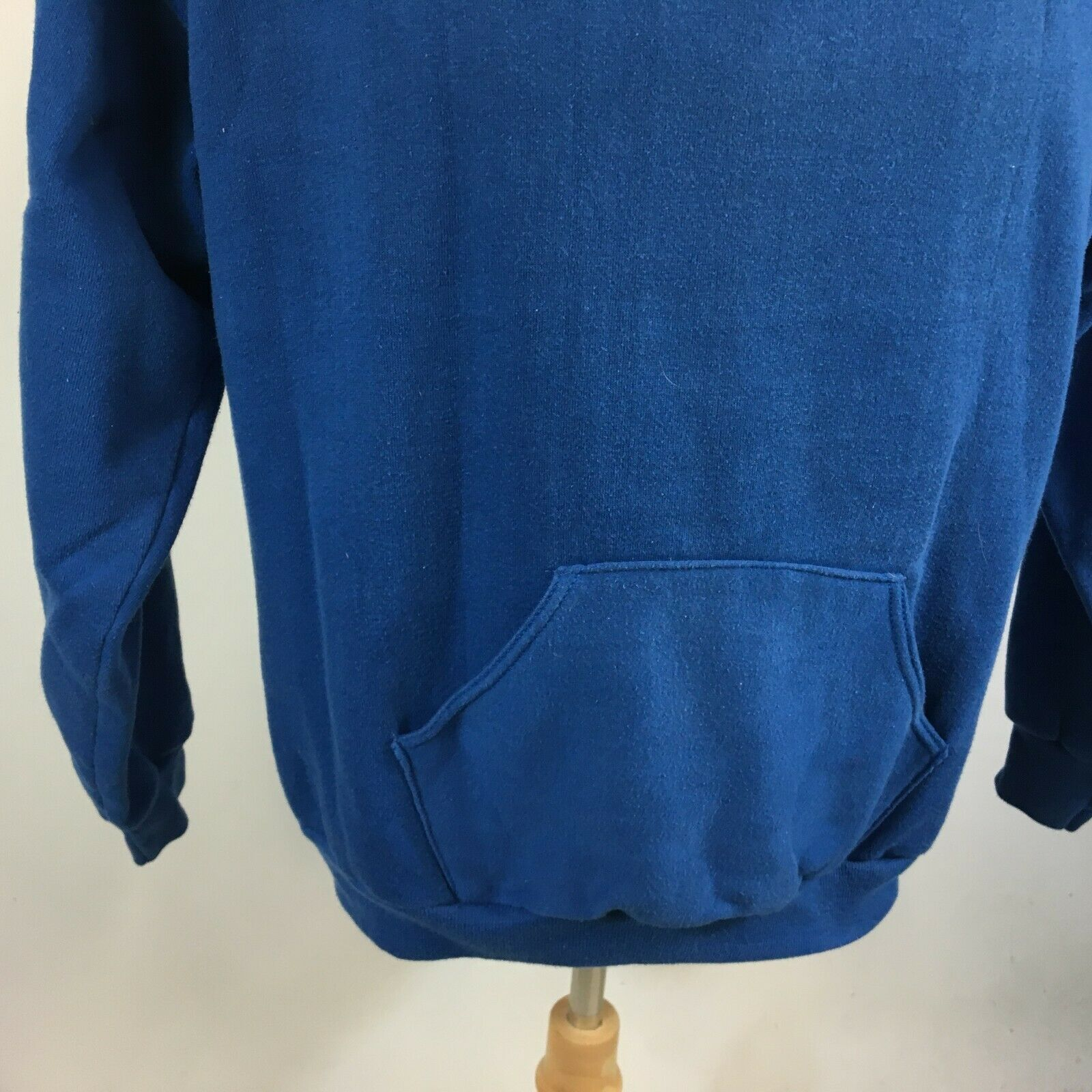 Vintage 60s 70s Russell Gold Tag Blue Blank Plain… - image 5