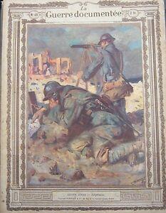 WW1-Photos-Lithographs-Fouqueray-Jonas-La-Guerre-Documented-1914-1918-No-No-46