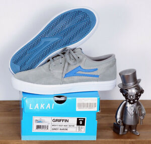 214af2dce3b4ff Image is loading Lakai-Footwear-Skate-Shoes-Shoes-Griffin-Grey-Suede-