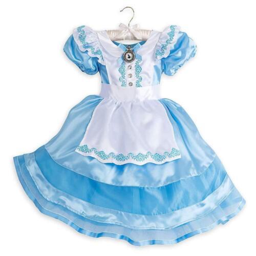 Alice in Wonderland Disney Store Alice Classic Costume Kids NEW Rare Soldout