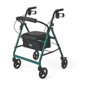 Medline-Basic-Aluminum-Rollator-with-6-034-Wheels-Green