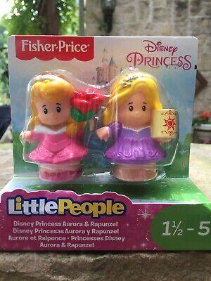 NIB Fisher Price Little People Disney Princess Figure Pack
