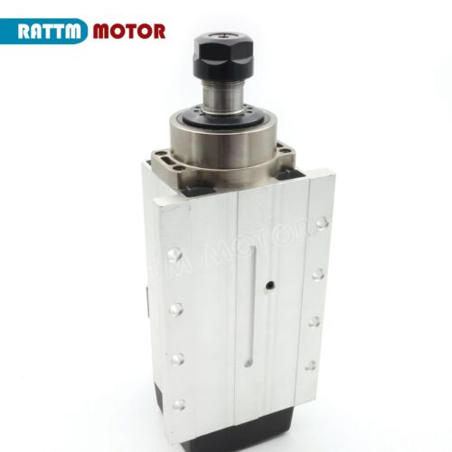 【US Ship】2.2KW Air cooled Spindle Motor ER20 Runout 0.01mm 220V For CNC Milling
