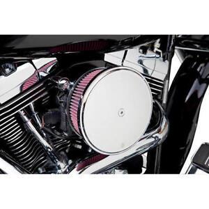 Arlen Ness Black Stage 2 Big Sucker Air Cleaner Filter Kit 08-17 Harley Touring
