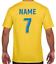 miniature 5 - Personalised Printed KIDS Football Style T-Shirt Boys Girls Tee Top