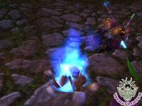 Grim Campfire Loot Card World Of Warcraft Blue Purple Skull Fire Wow Tcg Toy Box