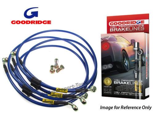 Goodridge For Smart Coupe Roadster Braided Brake Kit Lines Hoses