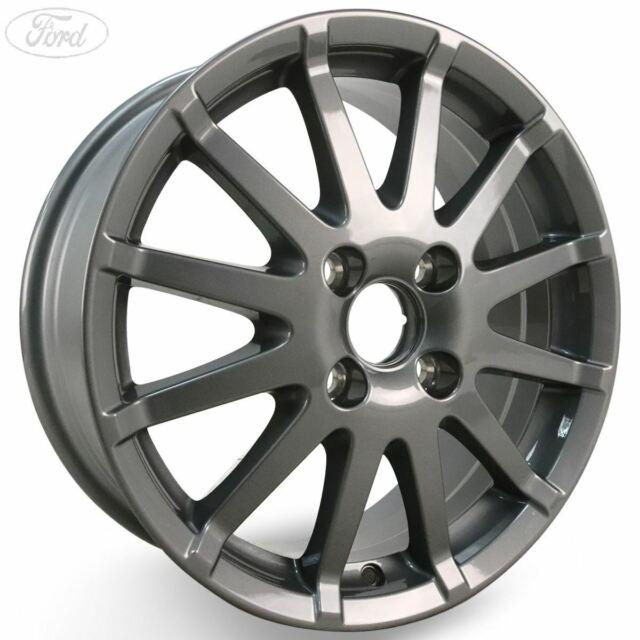 "Silver 02-08 Mk6 16/"" 16 Inch Car Wheel Trims Covers Black FORD FIESTA"