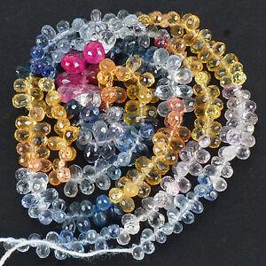 288-Pcs-Natural-Multi-Sapphire-Finest-Quality-Drilled-Briolettes-Wholesale-Lot