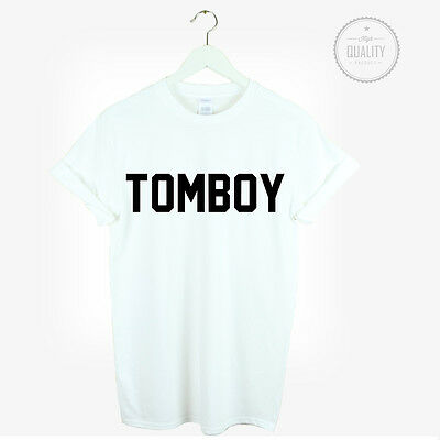 TOMBOY T SHIRT URBAN HIPSTER LOVE CUTE COOL FASHION UNISEX BLOGGER TUMBLR tomboy