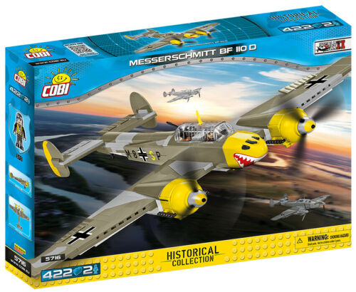 COBI 5716-Small Army-WWII couteau Schmitt Bf 110 D-NEUF