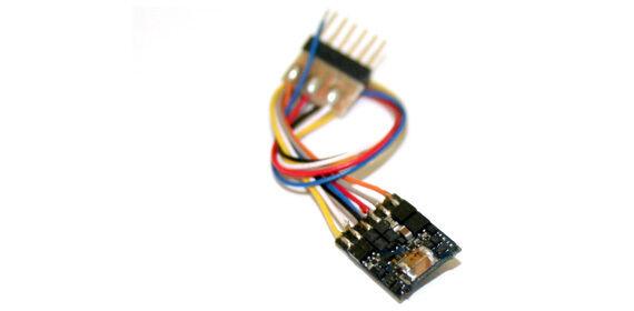 Esu 54687 2 Pz Lokpilot Micro V4. 0, mm   DCC   SX, 6-pol. Nem 651 con Cavo