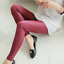 Womens-High-Waist-Slim-Stretch-Wet-Faux-Leather-Skinny-Tight-Pants-Leggings-UD thumbnail 7
