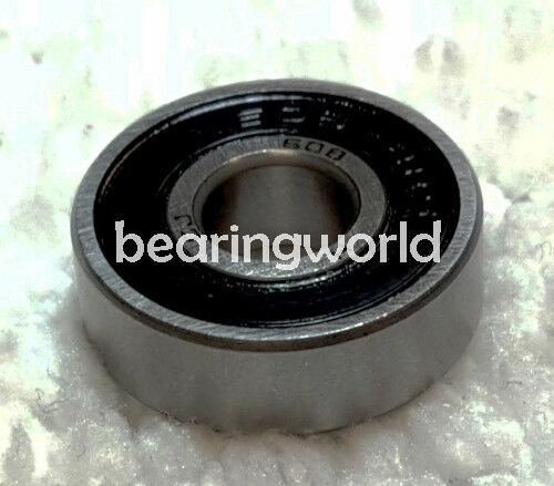 NEW High Quality R12 2RS R-12 2RS Inch Series Bearing 3//4 x 1-5//8 x 7//16