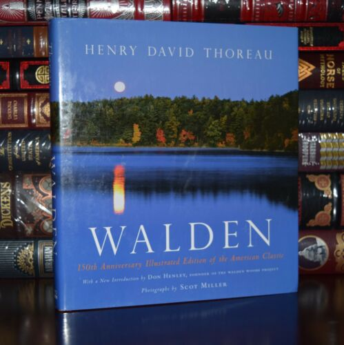 Walden Illustrated American Classic 150th Anniversary Thoreau New Hardcover