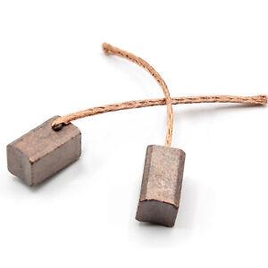 Kohlebuersten-Bronzekohlen-6x6x10mm-Zusatzwasserpumpe-Luefter-Klima-Rolltorantrieb