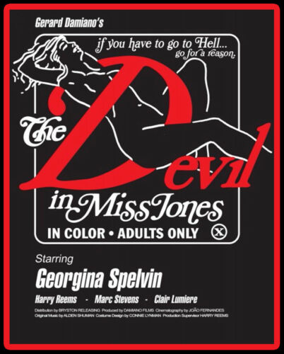 70/'s Porn Classic The Devil In Miss Jones Poster Art custom tee AnySize AnyColor