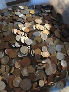 Details about Nice Mixed Bulk Lot of 100 Assorted World/Foreign Coins! Good  Beginner Lot!