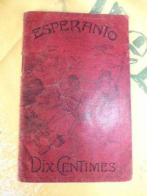 esperanto premier manuel de la lanque auxiliaire 1907