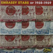 EMBASSY RECORDS CD 50's PAUL RICH RIKKI HENDERSON MAUREEN EVANS DICK JORDAN ~NEW