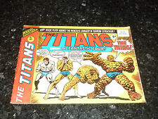 THE TITANS Starring FANTASTIC FOUR - No 50 - Date 29/09/1976 - Marvel Comic