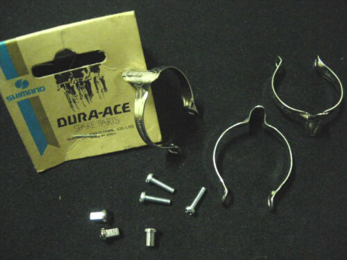 Details about  /Vintage SHIMANO DURA ACE  Brake Cable Clips Set of 3 NOS 70s