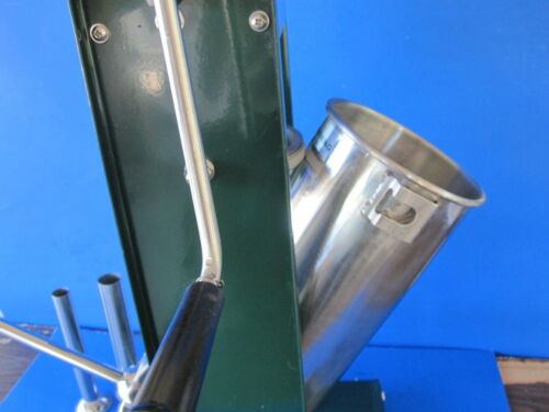 "LARGE 8 1//2/"" diameter Rubber Gasket Seal for Manual Sausage Stuffer Press"