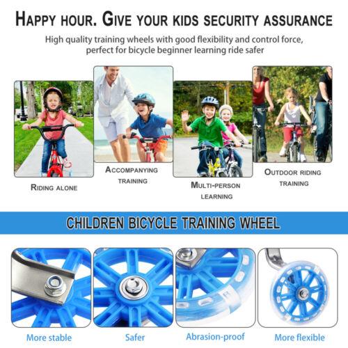 Universal Stützräder Sicherheitsstützräder für 12 14 16 18 20 Zoll Kinderfahrrad