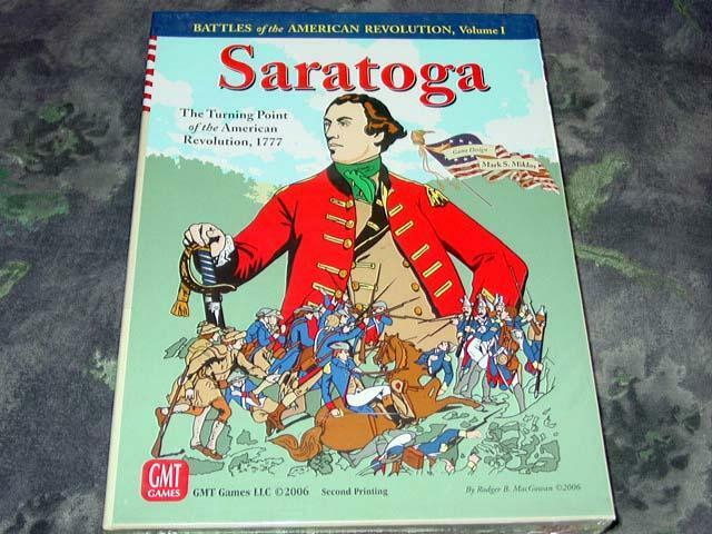 GMT Games - SARATOGA - Turning Point of the American Revolution 1777 (SEALED)