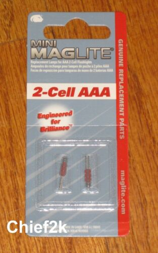 Maglite 2 Cell AAA ampoules de rechange Maglight