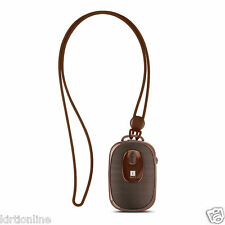iBall Musi Dangle Bluetooth Portable Speaker With Mic (Brown)