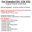 For Yamaha FZ6 Fazer engine guard FZ1S crash bars FZ8S FZ1N FZ8N FZ6S2 FZ6N,Gift