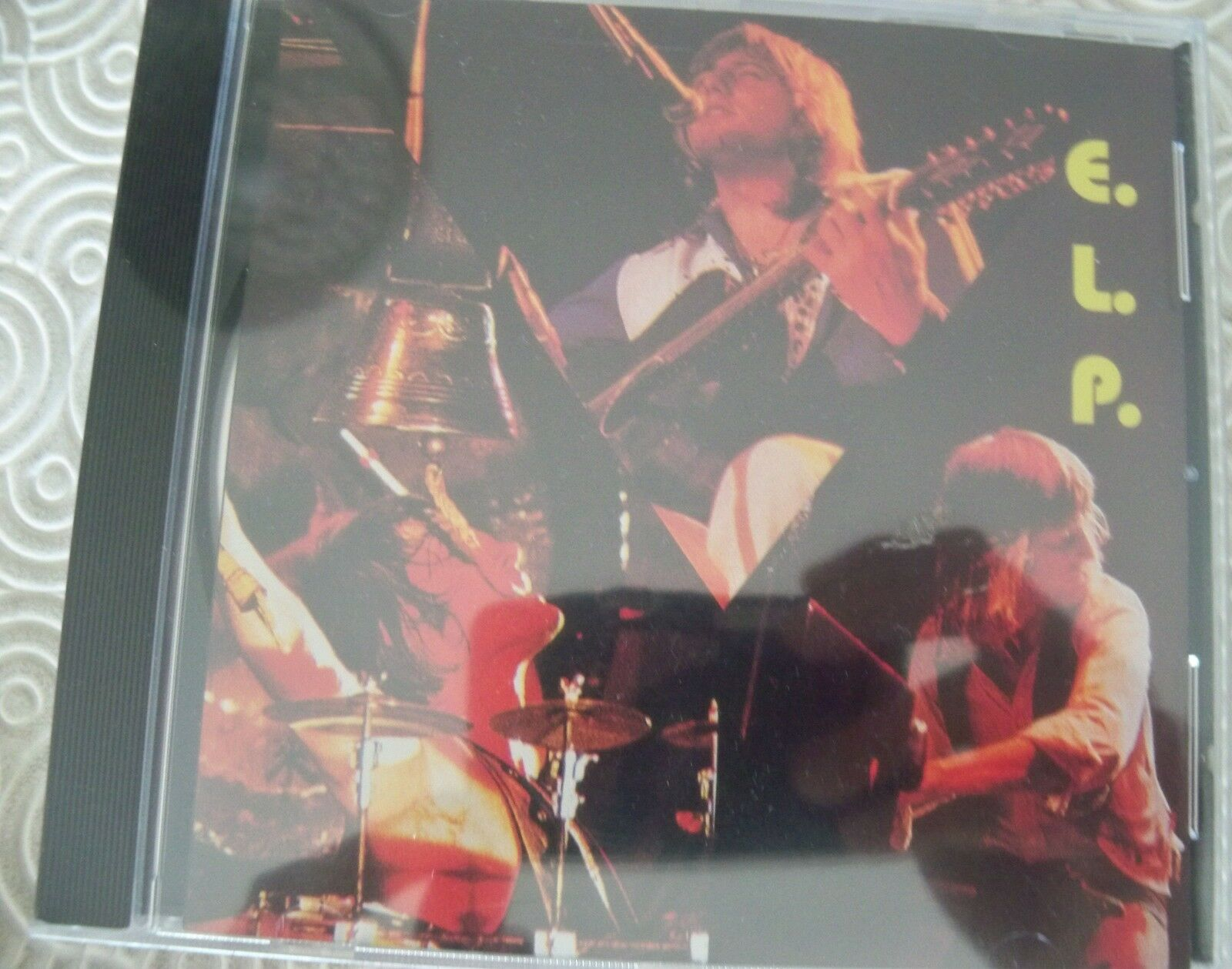 EMERSON, LAKE & PALMER  ANAHEIM 1975  RARE CD LIVE NEW MINT SEALED VIP006