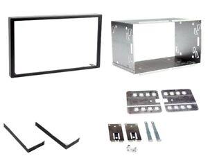 Ford Transit /& Mondeo Doble Din Fascia Panel Adaptador Placa Cage Kit de montaje