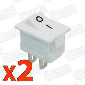 2x-MINI-interruptor-ON-OFF-BLANCO-panel-empotrable-boton-220v-3A-SPST