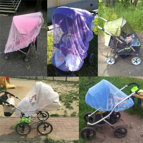 Mosquito Net for Baby Stroller Infants Safe Mesh White Bee Insect Bug Cover DP