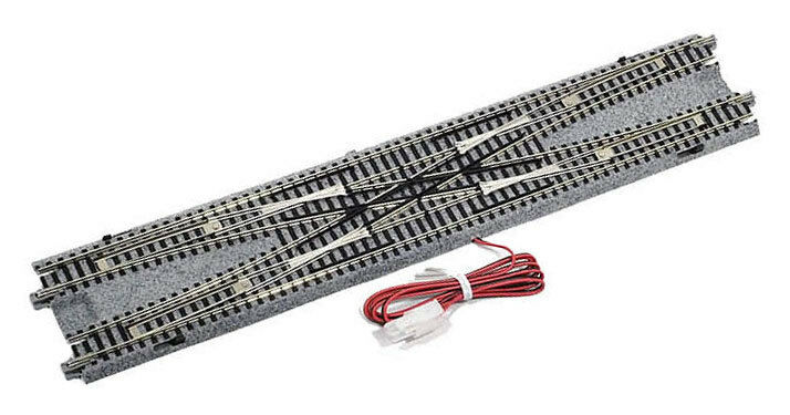 Kato 20210, N Scale, 310mm (12 3 16 ) Double Credver Turnout