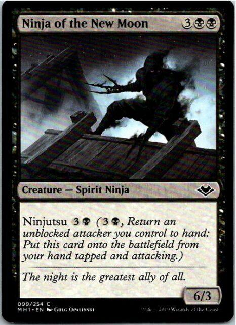 ninja of the new moon magic the gathering modern horizons