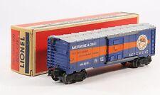 Vintage Lionel 6464-400 Baltimore & Ohio Boxcar C6
