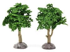 "Miniature Artificial Tree Dark Green 4"" Dollhouse Fairy Gnome Garden MI 50993"
