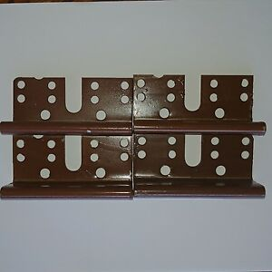 Image Is Loading 4 Bed Post Bracket For 2 Hook Slot