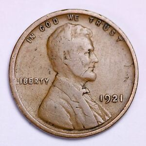 1921-Lincoln-Wheat-Cent-Penny-LOWEST-PRICES-ON-THE-BAY-FREE-SHIPPING