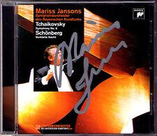 Mariss JANSONS Signiert TCHAIKOVSKY Symphony No.6 SCHOENBERG Verklärte Nacht CD