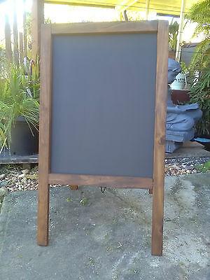 Olympia Pavement A Board Wood Frame Display Menu Chalkboard Bar Restaurant