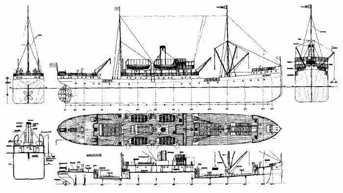 Plano de edificio cisne modellbau plan de modelismo