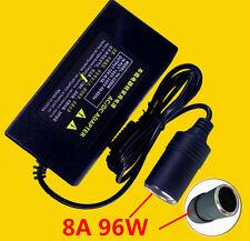 8A 96W 220V to 12V Car Cigarette Lighter Power Adapter Converter Transformer