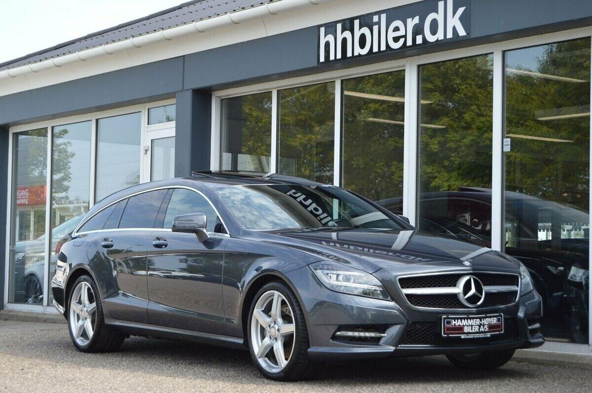 Mercedes CLS350 3,0 BlueTEC SB aut. 5d - 499.500 kr.