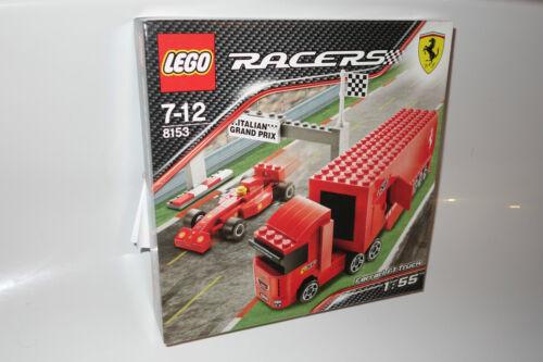 1 von 1 - LEGO® Racers 8153 Tiny Turbo Ferrari Truck NEU_Ferrari F1 Truck NEW MISB